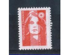 1993 - LOTTO/FRA2791N - FRANCIA - 2,50 Fr. MARIANNA - NUOVO