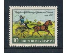 1952 - LOTTO/10500 - GERMANIA FEDERALE - 10p. GIORNATA DEL FRANCOBOLLO - NUOVO