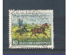 1952 - LOTTO/10500U - GERMANIA FEDERALE - 10p. GIORNATA DEL FRANCOBOLLO - USATO