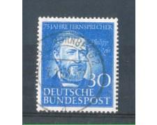 1952 - LBF/2445C - GERMANIA FEDERALE - 30p. PHILIP REIS - USATO