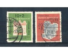 1953 - LOTTO/3451U - GERMANIA FEDERALE - ESPOSIZ. IFRABA - USATI