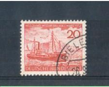 1952 - LOTTO/3604U - GERMANIA FEDERALE - 20p. RESTITUZIONE HELLIGOLAND - USATO