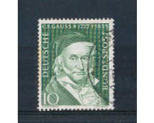 1955 - LOTTO/3788U - GERMANIA FEDERALE - FRIEDRICH GAUSS - USATO