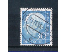 1954 - LOTTO/10502U - GERMANIA FEDERALE - 30p. EFFIGIE HEUSS - USATO