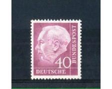 1954 - LOTTO/10503 - GERMANIA FEDERALE - 40p. HEUSS - NUOVO