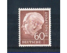 1954 - LOTTO/10504 - GERMANIA FEDERALE - 60p. HEUSS - NUOVO