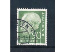 1954 - LOTTO/10506U - GERMANIA FEDERALE - 90p. HEUSS - USATO