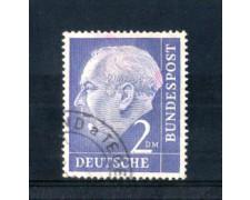 1954 - LOTTO/10507U - GERMANIA FEDERALE - 2 m.  HEUSS - USATO