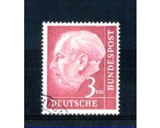 1954 - LOTTO/10508U - GERMANIA FEDERALE - 3m. HEUSS - USATO