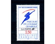 1991 - LOTTO/FRA2721N - FRANCIA - 2,50 Fr. ALBERTVILLE - NUOVO