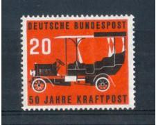 1955 - LOTTO/10510 - GERMANIA FEDERALE - 20p. AUTO POSTALE - NUOVO