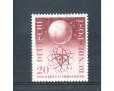 1955 - LOTTO/10511 - GERMANIA FEDERALE - 20p. RICERCHE SCIENTIFICHE  - NUOVO