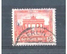 1930 - LOTTO/GER428U - GERMANIA REICH - 15+5p. PORTA BRANDEBURGO - USATO