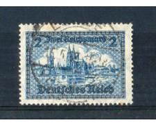 1930 - LBF/2414  - GERMANIA REICH - 2 m. COLONIA - USATO