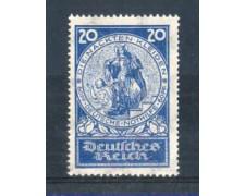 1924 - LOTTO/GER346L - GERMANIA REICH - 20+60p. BENEFICIENZA - LINGUELLATO