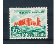 1940 - LOTTO/GER674L - GERMANIA REICH - RIANNESSIONE HELIGOLAND - LINGUELLATO