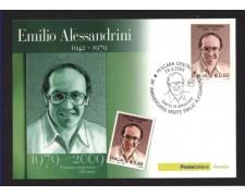 2009 - LOTTO/10562ZM - REPUBBLICA - EMILIO ALESSANDRINI - CARTOLINA MAXIMUM
