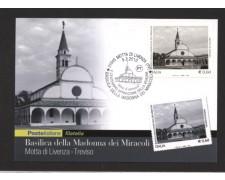 2010 - LOTTO/10565ZM - REPUBBLICA - BASILICA MADONNA DEI MIRACOLI - CARTOLINA MAXIMUM