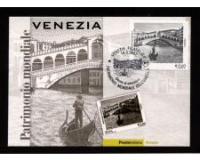 2007 - LOTTO/10571ZM - REPUBBLICA -  VENEZIA PATRIMONIO UNESCO - CARTOLINA MAXIMUM