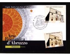 2010 - LOTTO/10579 - REPUBBLICA - BASILICA DI COLLEMAGGIO - CARTOLINA MAXIMUM