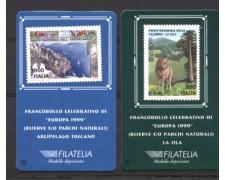 1999 - LOTTO/REP2436CPT - REPUBBLICA - EUROPA  RISERVE TESSERE FILATELICHE