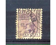 1917 - LOTTO/10613U - SVIZZERA - 3+2 CENT. PRO JUVENTUTE - USATO