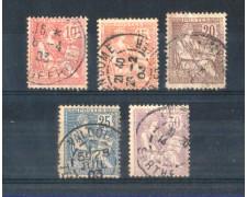 1902 - LOTTO/FRA128CPU - FRANCIA - ALLEGORIA MOUCHON - USATI