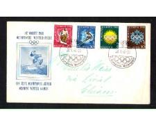 1948 - LOTTO/SVI452CPB - SVIZZERA - OLIMPIADI INVERNALI - BUSTA