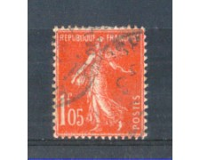 1924 - LOTTO/FRA195U - FRANCIA - 1,05 Fr. SEMINATRICE - USATO