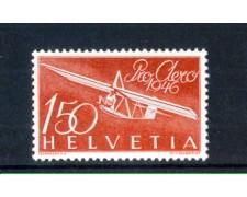 1946 - LOTTO/SVIA40N - SVIZZERA - 1,50 Fr. PRO AEREO - NUOVO