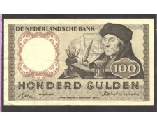 OLANDA - 1953 - LOTTO/10517 -  100 GULDEN  ERASMUS