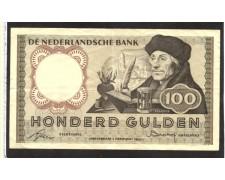 OLANDA - 1953 - LOTTO/10518 -  100 GULDEN ERASMUS