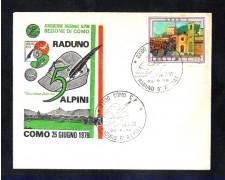 1978 - LBF/3349 - ITALIA - COMO RADUNO 5° ALPINI - BUSTA