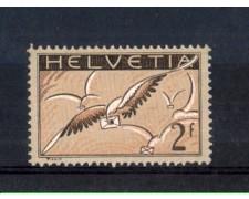 1929 - LOTTO/10717 - SVIZZERA - 2 Fr. POSTA AEREA - LING.