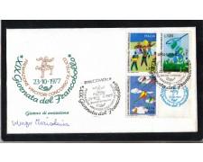 1977 - LBF/1487 - REPUBBLICA - GIORNATA DEL FRANCOBOLLO FDC