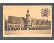 GERMANIA - 1921 - LOTTO/10733 - LIPSIA  ALTES RHATAUS