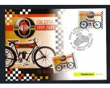 2009 - LOTTO/10752ZM - REPUBBLICA - MOTO GILERA - CARTOLINA MAXIMUM