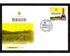 2010 - LOTTO/10763Z - REPUBBLICA - BERLUCCHI - BUSTA FDC
