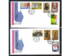 1979  - LOTTO/1395 - GRECIA - ANNIVERSARI AVVENIMENTI - 2 BUSTE FDC
