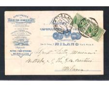 MILANO - 1926 - LOTTO/10771 - REGNO - MARIANI BATTISTA CAMINI PER STABILIMENTI
