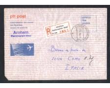 1984 - LOTTO/10796 - OLANDA - AEROGRAMMA  DA ARNHEM PER L'ITALIA