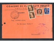 1944 - LOTTO/10803 - RSI - BUSTA DA CASORATE PER MILANO