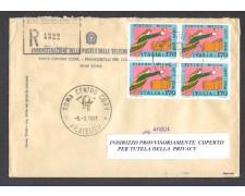 1977 - LBF/1400 - REPUBBLICA - PIETRO MICCA - BUSTA RACC. FDC