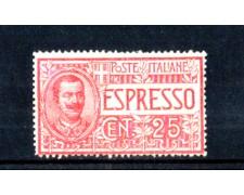 1903 - LOTTO/10932 - REGNO - ESPRESSO 25 CENTESIMI - NUOVO