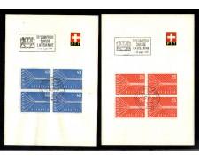 1957 - LOTTO/10948 - SVIZZERA - 38 COMPTOIR SUISSE LAUSANNE