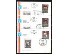 1968 - LOTTO/10953 - AUSTRIA - CINQUANTENARIO REPUBBLICA - 3 BUSTE FDC