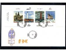 1992 - LOTTO/10957 - ALAND - FARI DI ALAND - BUSTA FDC