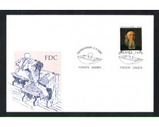 1992 - LOTTO/10958 - ALAND - REVERENDO KNORRING - BUSTA FDC