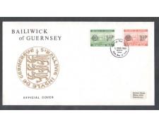 1980 - LOTTO/10961 - GUERNSEY - SEGNATASSE - BUSTA FDC