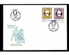 1980 - LOTTO/10970 - MADERA - PRIMA EMISSIONE 2v. - BUSTA FDC